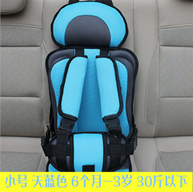 Children's strap seat baby car portable simple 0-3 years old child seat cushion
