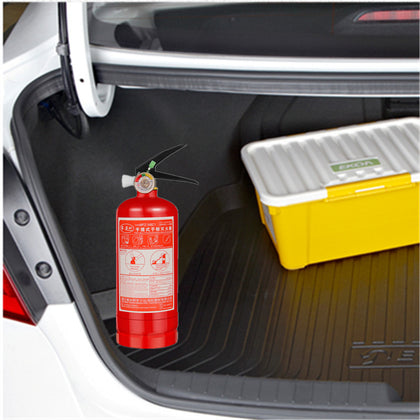 Multifunctional portable dry powder fire extinguisher for cars 1/2kg4kg Household annual inspection car fire equipment