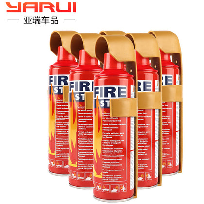 500ml car car foam fire extinguisher car home genuine small portable annual inspection fire equipment