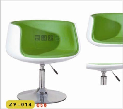 Sidi Ke glass fiber reinforced plastic chair imitation ceramic leisure VIP to discuss reception lift wine glass color cold drink shop bar chair alliance