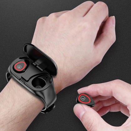 2 in 1 Smart Bracelet with Bluetooth Headset