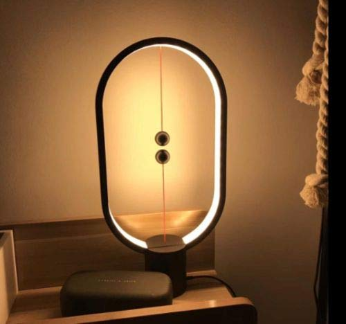 Decorative Magnetic Led Night Lamp with USB Cable for Bedroom, Office Table Top Stand