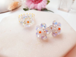 Swarovski Crystal Flower Beads
