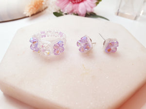 Swarovski Crystal Ring/Bracelet/Earrings