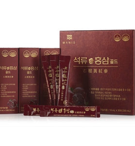 Korea Red Ginseng with Pomegranate