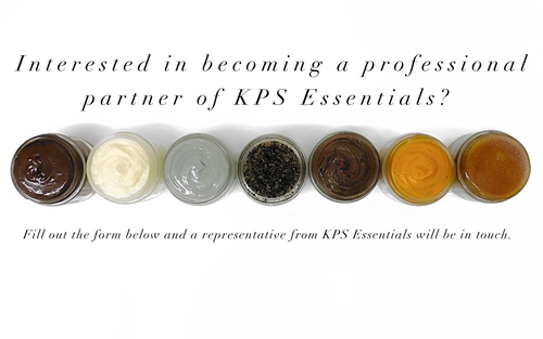 Are you a professional or spa owner? Apply to become a KPS Essentials Partner
