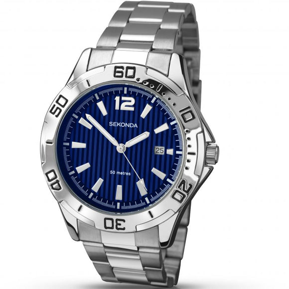 Sekonda 1170 Gents Sports Bracelet watch