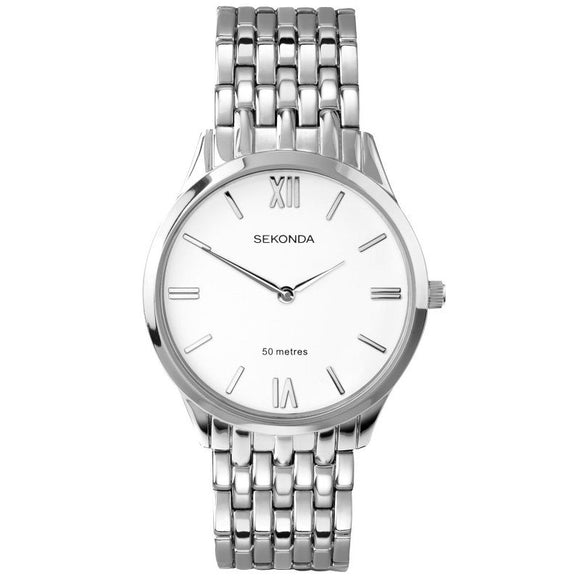 Sekonda 1608 Mens Dress Bracelet watch