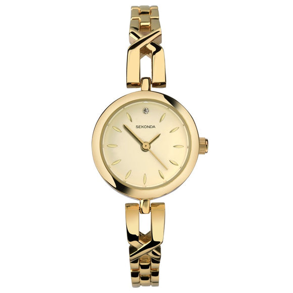 Sekonda 2537 Ladies Gold Plated Dress Bracelet