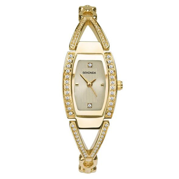 Sekonda 2772 Ladies Gold Plated Dress Bracelet