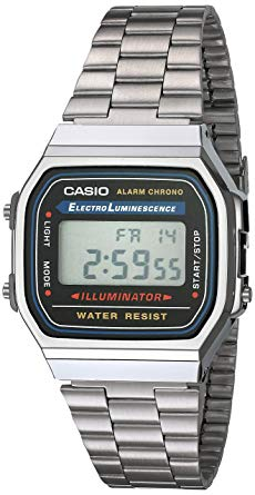 Casio Gent\`s Men\`s Digital Watch A168WA-1UWD Silver