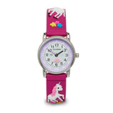 Accutime Kids Unicorn watch Hot Pink