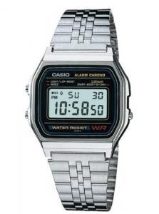 Casio Classic MEN\`S digital retro watch A158WA-1DF