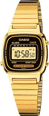 Casio Watch LA670WG-1DF Casual Classic Women\`s