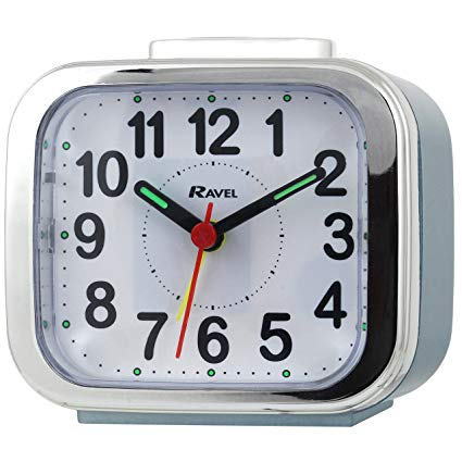 RAVEL RC027 QUARTZ ALARM CLOCK with snooze & light