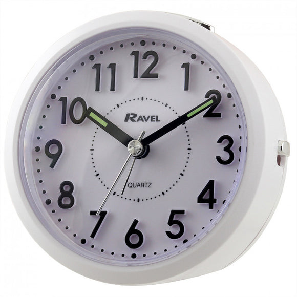 Ravel Quartz 3D Dial  Alarm Clock RC029