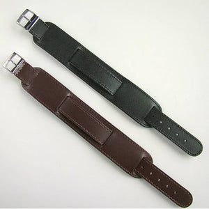 MILITARY LEATHER WATCH STRAPS - 6pcs
