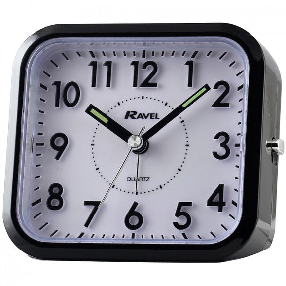 Ravel Quartz 3D Dial  Alarm Clock RC019