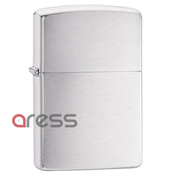 Zippo 200 Brushed Chrome Lighter