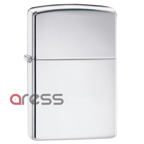 Zippo 250 High Polish Chrome Pocket Lighter
