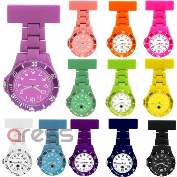 Nurses Assorted Acrylic Fob watch
