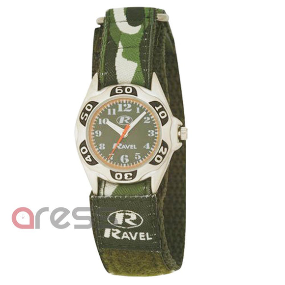 Ravel R1507.05  green army camouflage watch