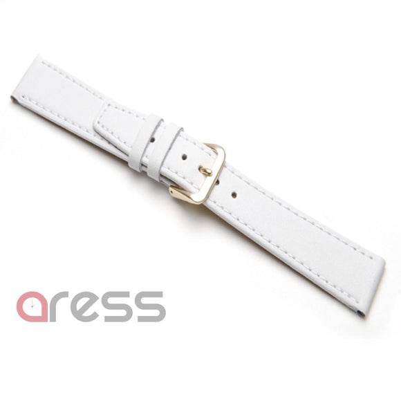 WHITE CALF GRAIN Watch straps (per 12 pieces) (1005)
