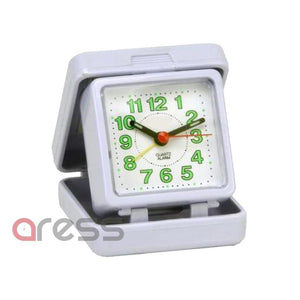 Travel Alarm Clock Quartz Alarm Folding Large Numbers Beep Alarm