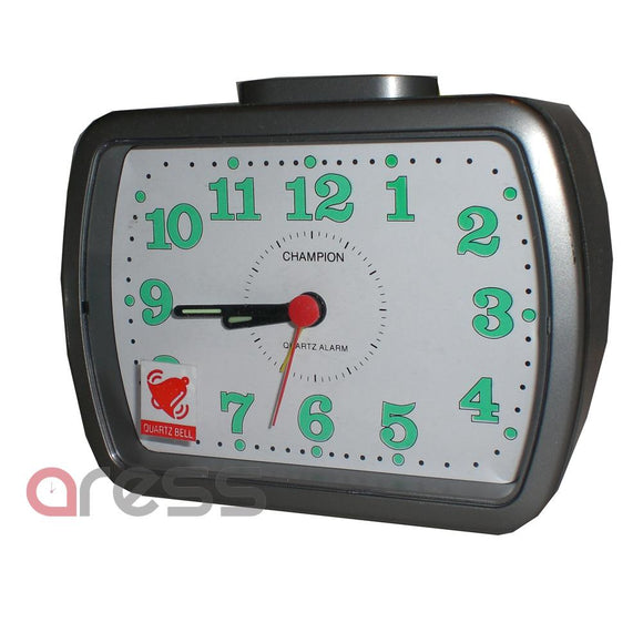 CHAMPION BA309 BELL ALARM CLOCK ILLUMINUS NUMBERS