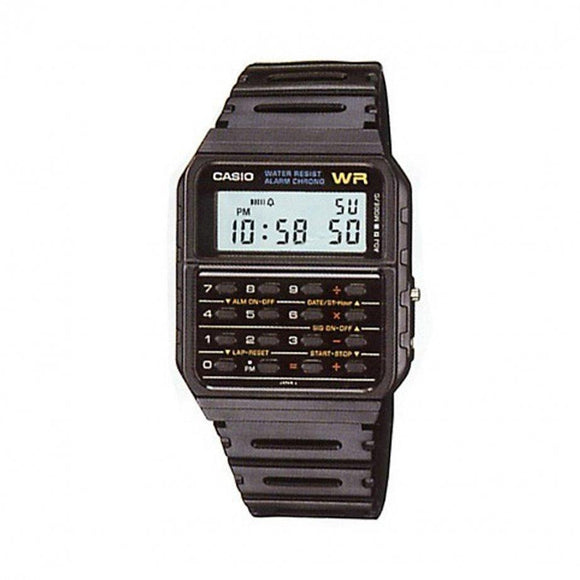 CASIO WATCH RETRO CALCULATOR TOP WATCHES CA-53W-1Z