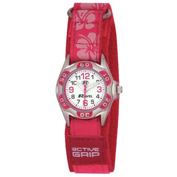 Ravel Girls Velcro Watch R1507