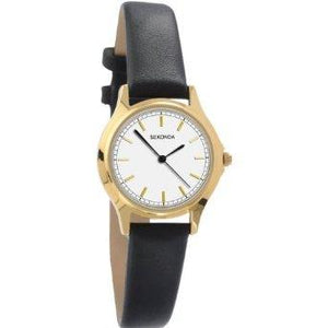 Sekonda 4136 Ladies Leather Strap Watch