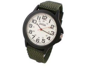 Pelex - Glow dial on Military canvas style strap
