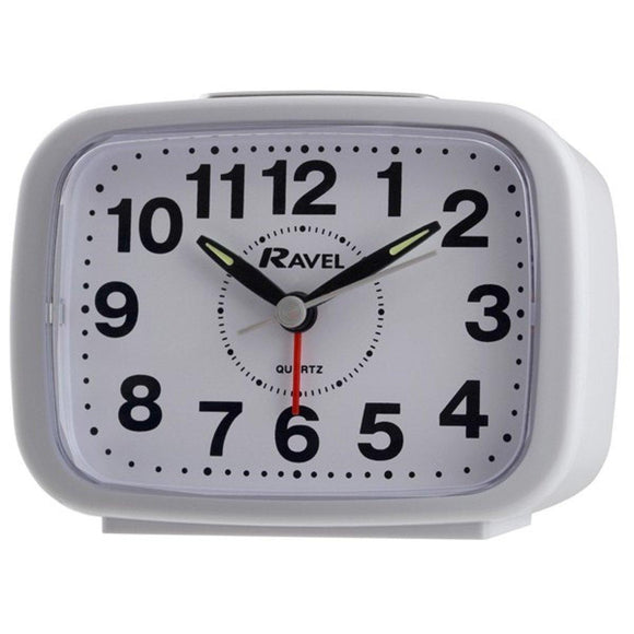 RAVEL QUARTZ ALARM CLOCK RC008