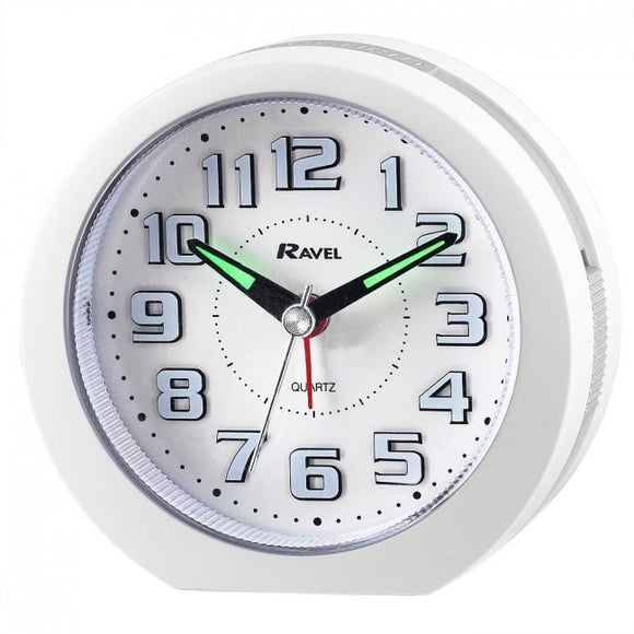 Ravel Quartz 3D Dial LED Alarm Clock RC021