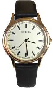 Sekonda Mens 1529 Quartz watch on strap