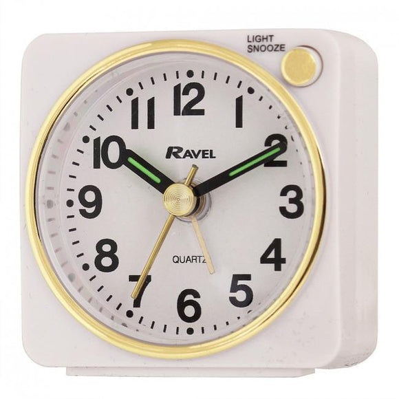 Ravel Mini Travel Alarm Clock RC018