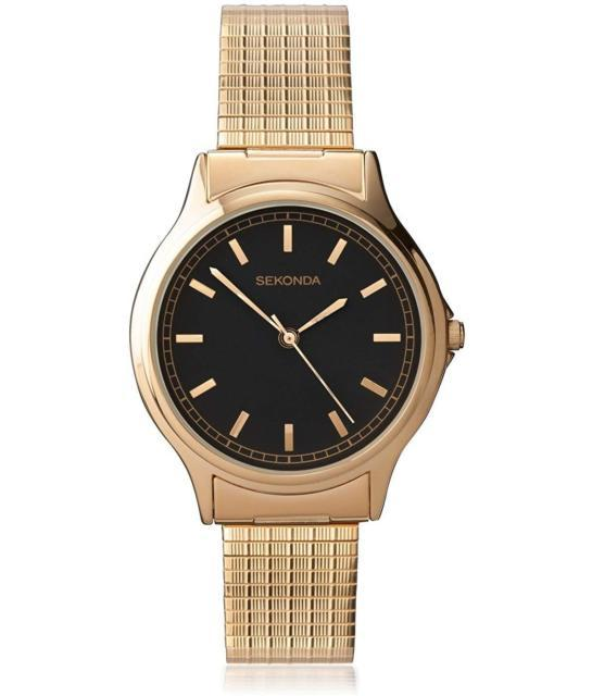 Sekonda 3141B Gold Plated Expanding Bracelet watch