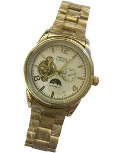 P-London AUTOMATIC WATCH Sun/Moon on Bracelet- 101