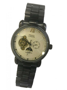 P-London Automatic Sun/Moon watch on Bracelet-102