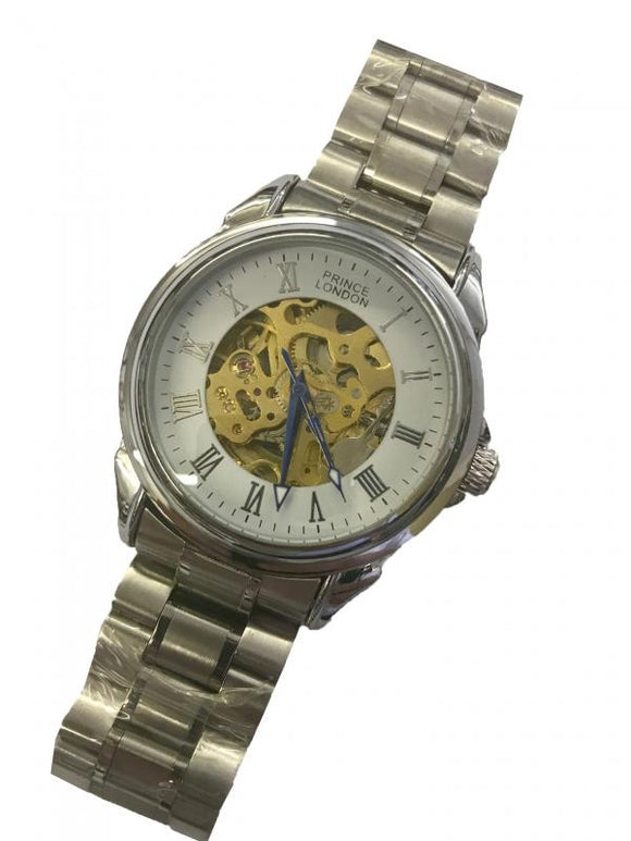 P-London Automatic watch on Bracelet-104