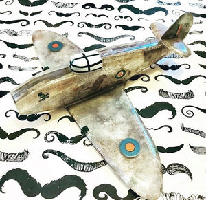 WW2 Militaria Trench Art Model Spitfire - My Favourite Find & TV Appearance
