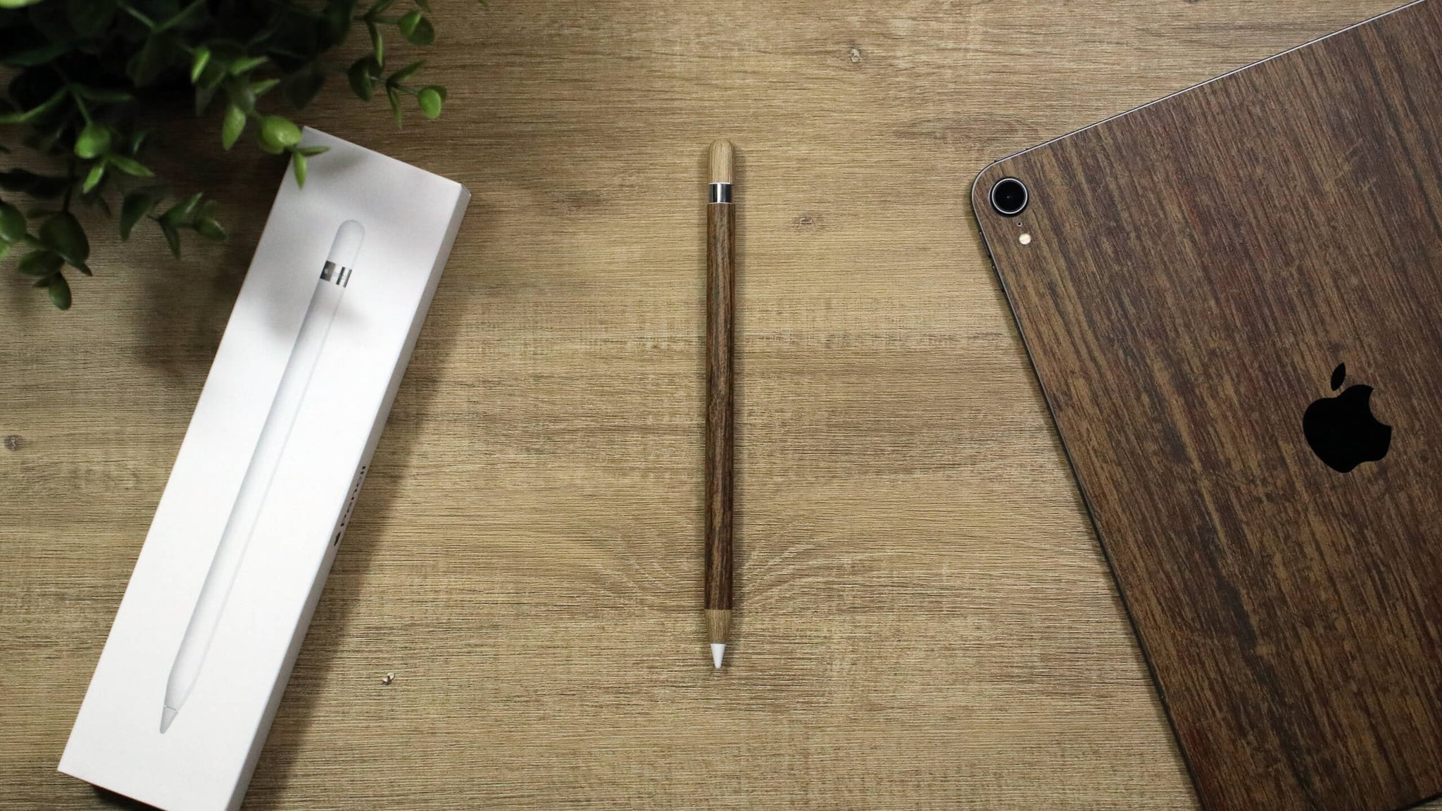 Apple Pencil (Gen 2) Aged Oak Skins