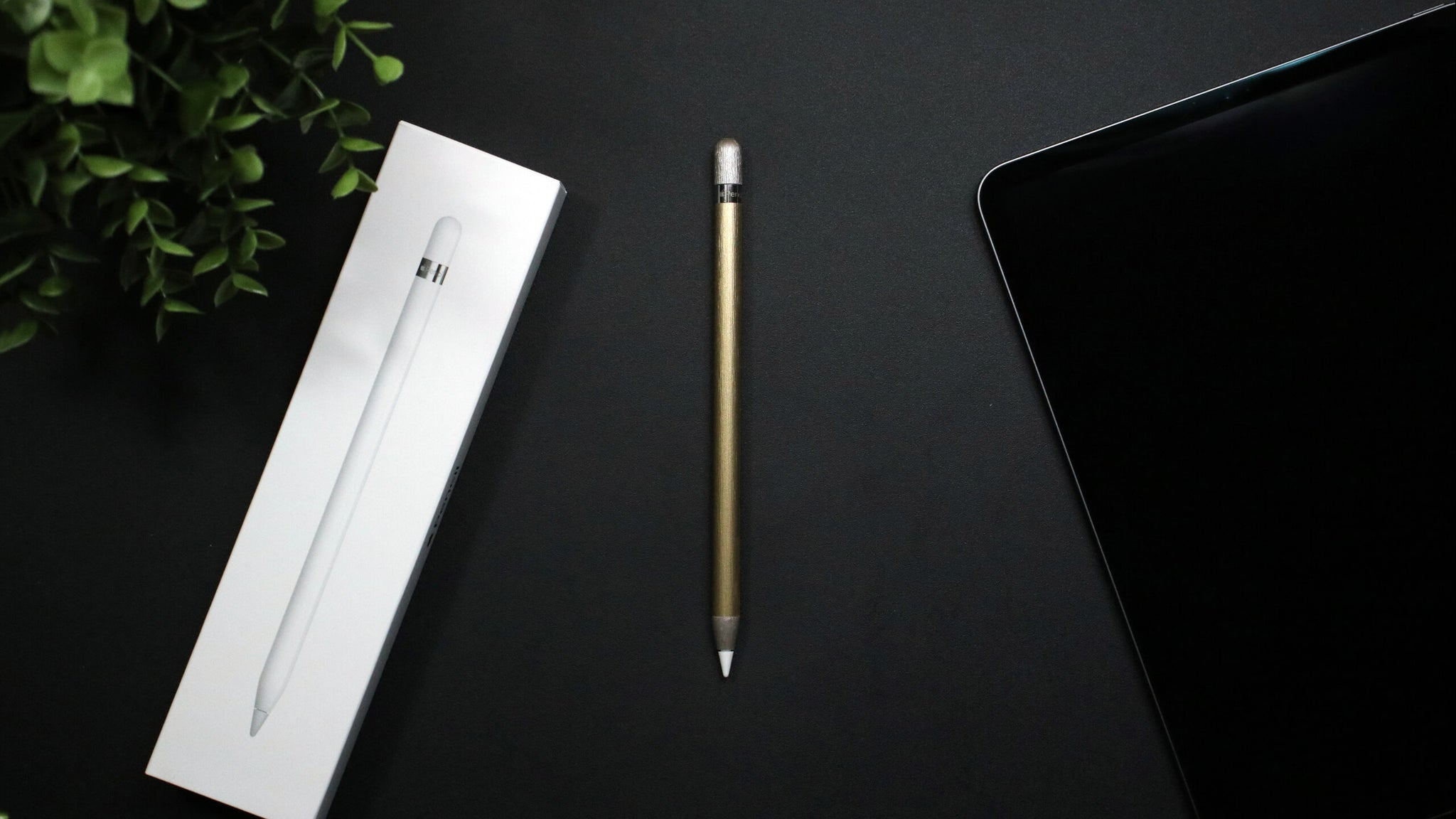 Apple Pencil (Gen 2) Brushed Gold Skins
