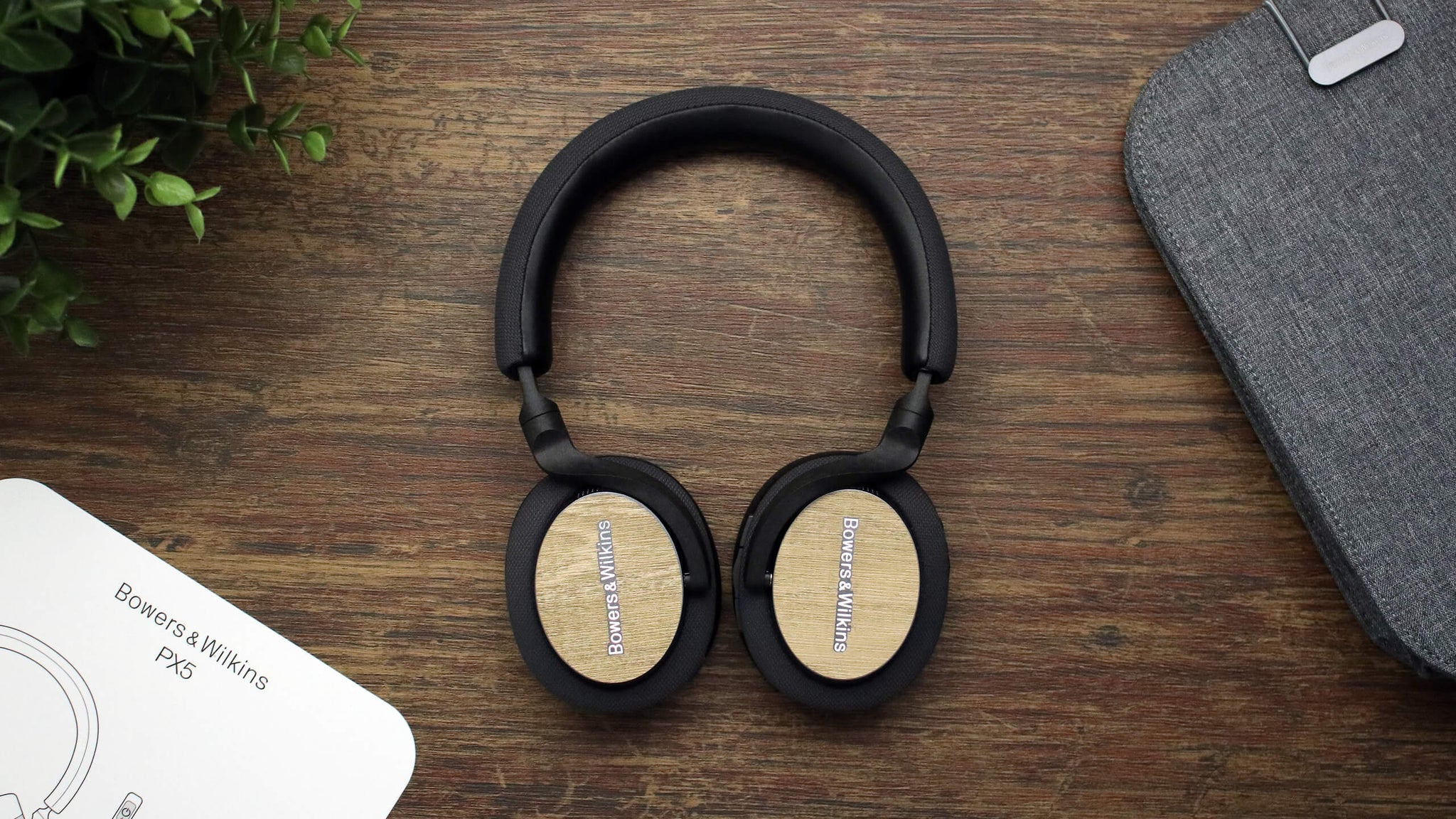 Bowers and WIlkins PX5 Modern Oak Headphone Skins