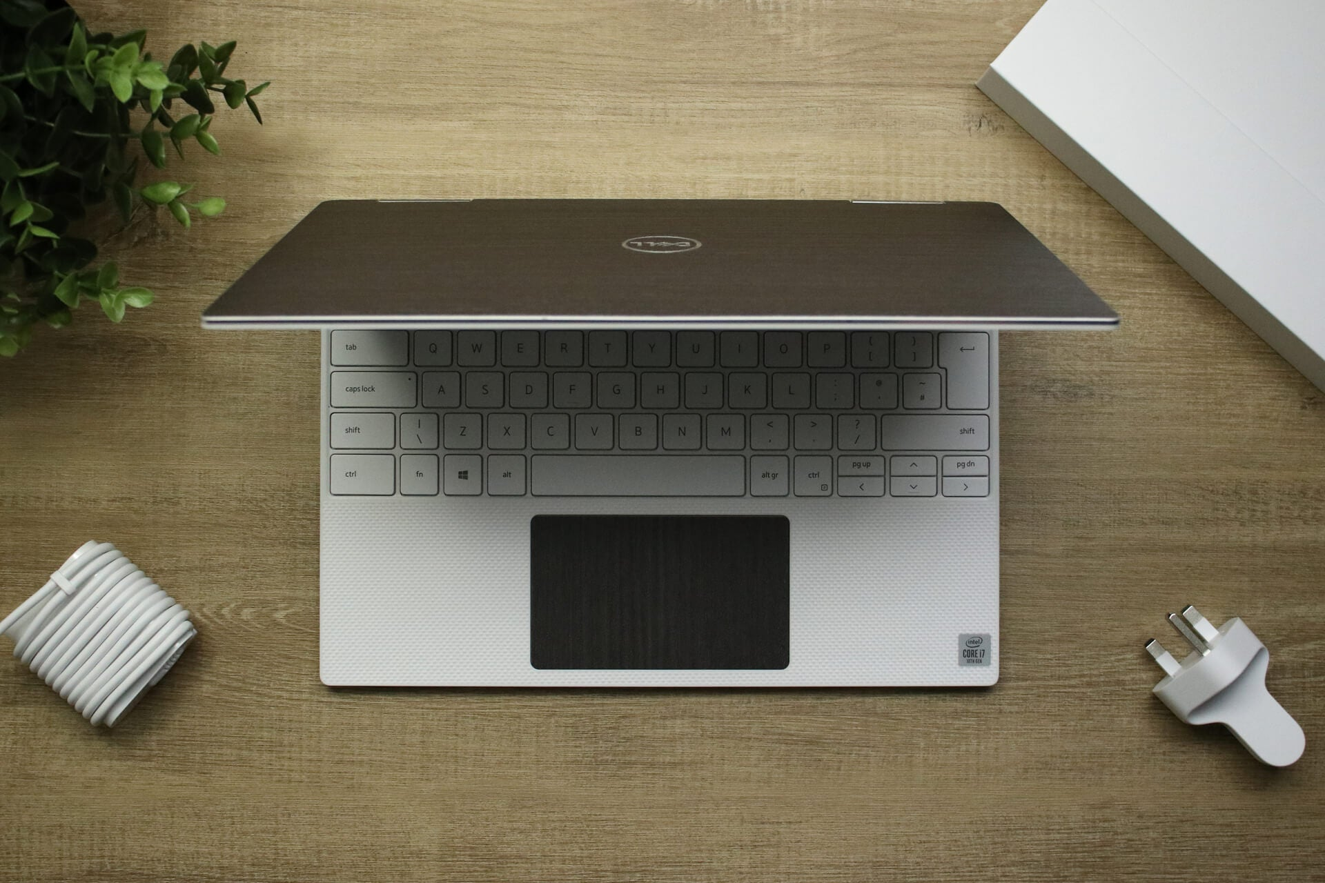 Dell XPS 13 2-in-1 7390 Silverblack Wood Skins