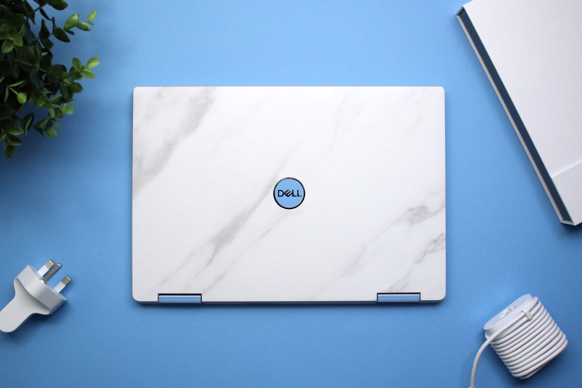 Dell XPS 13 2-in-1 7390 White Marble Skins