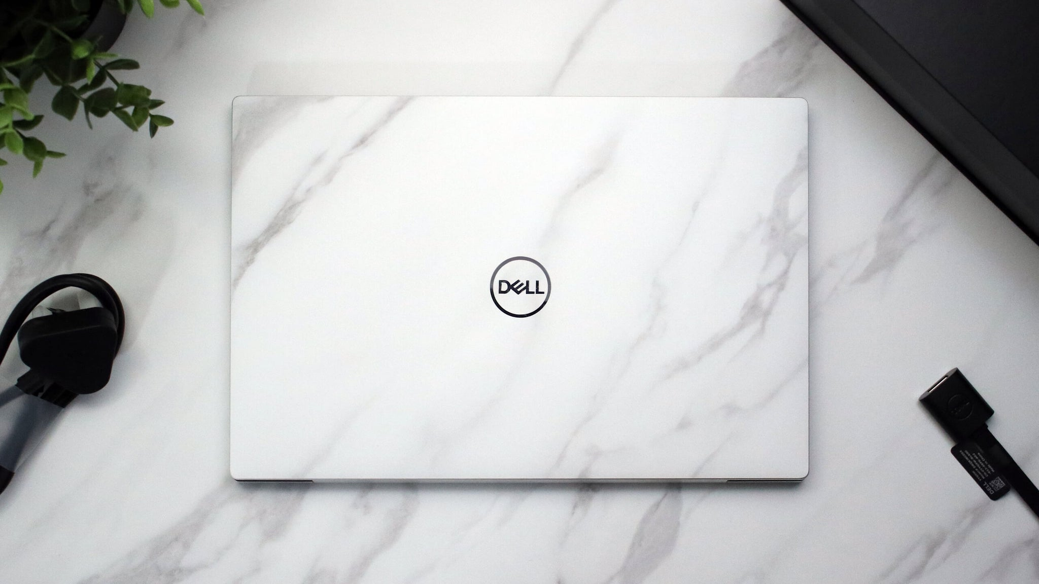 Dell XPS 13 9300 White Marble Skins