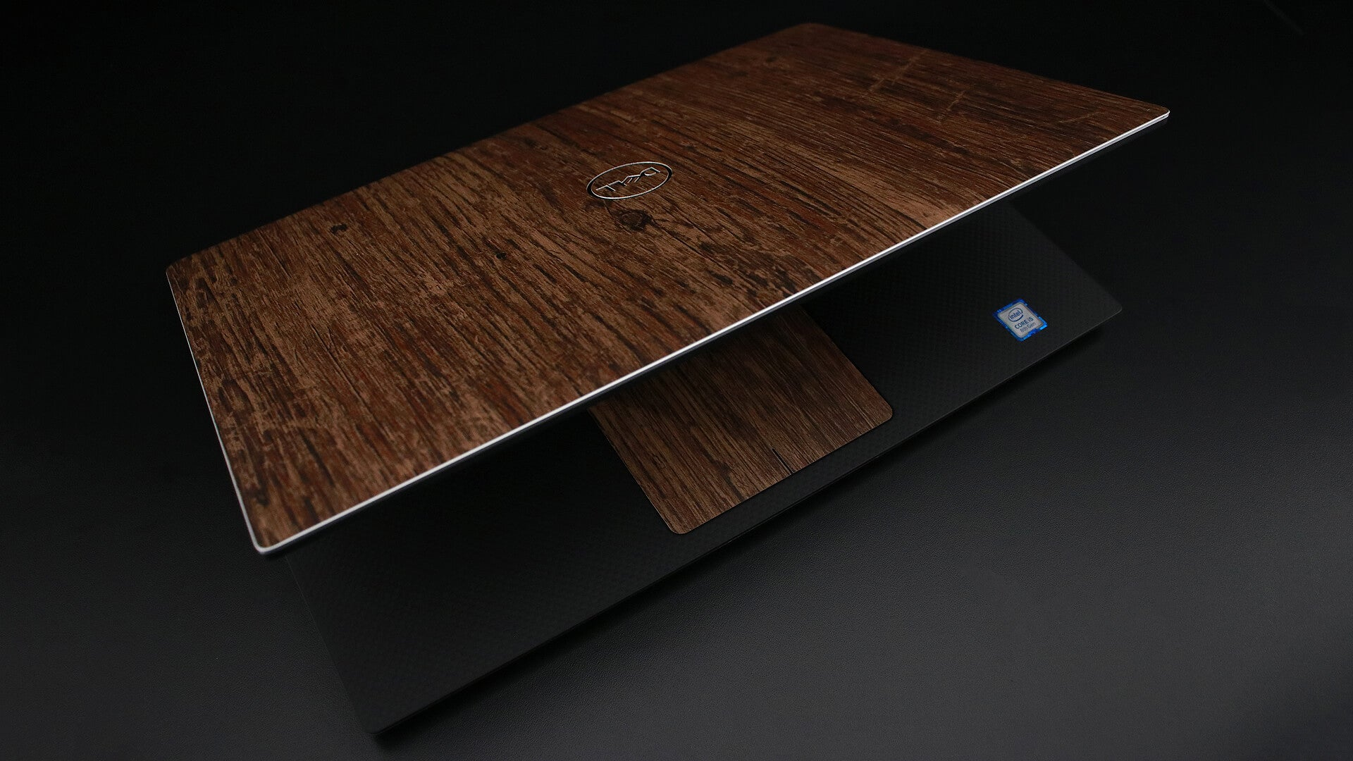Dell XPS 15 (9750) Aged Oak Skins