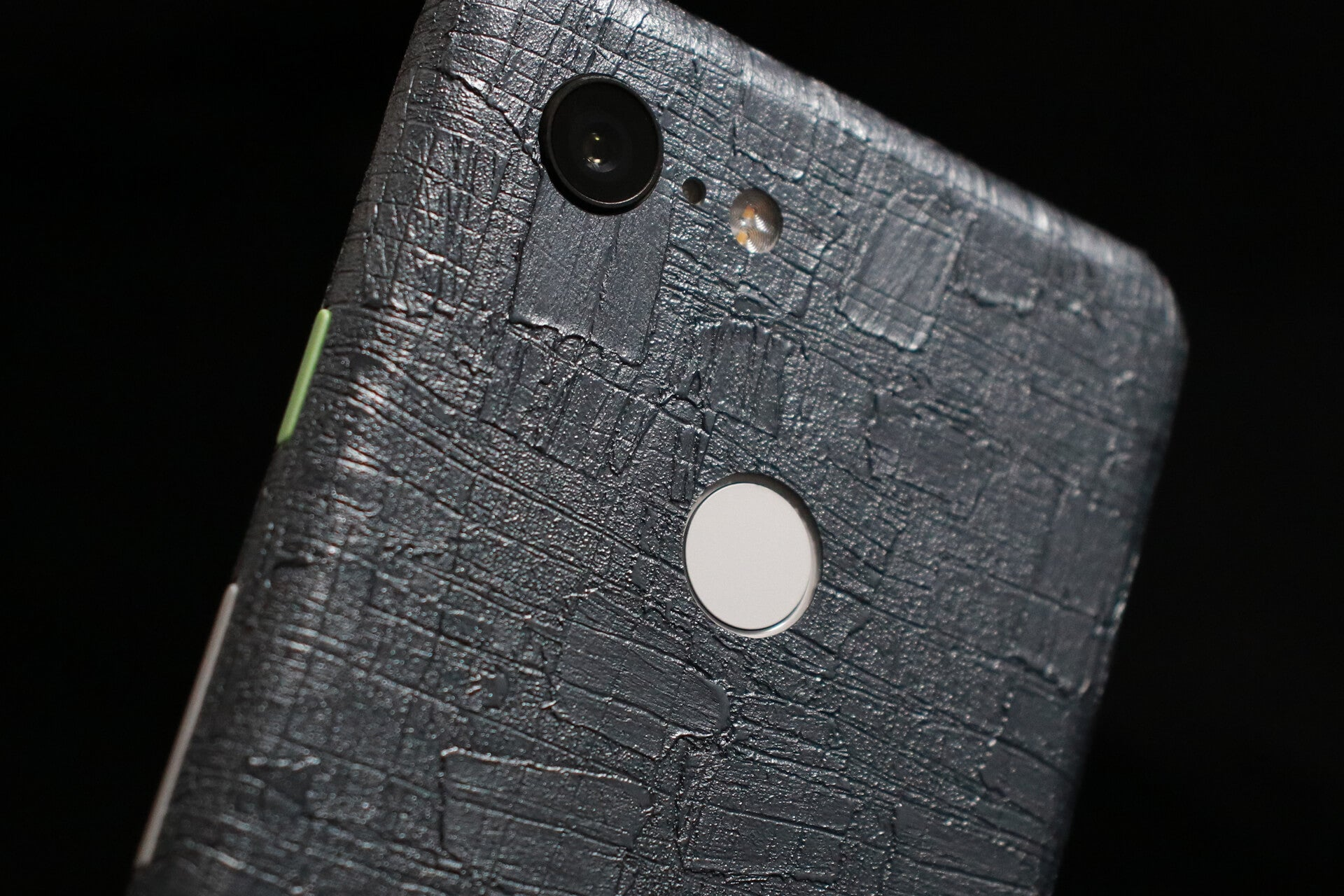 Google Pixel 3 Carved Charcoal Skins